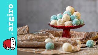 Χιονούλες με ινδοκάρυδο της Αργυρώς | Χ-mam | Αργυρώ Μπαρμπαρίγου