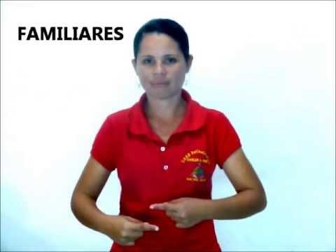 LENGUAJE SORDOS DE VENEZUELA LA FAMILIA