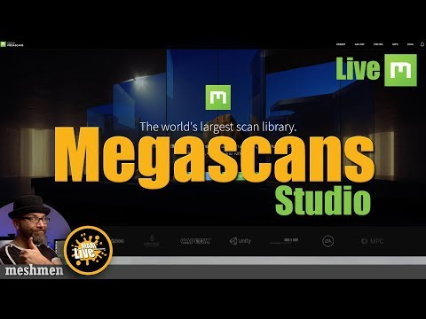 Megascans and megascans studio | Mari 4 Material texturing part 01