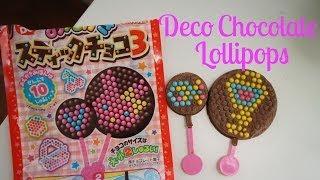 deco chocolate lollipop kit whatcha eating 125