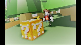 OPENING MINECRAFT LUCKY BLOCKS IN ROBLOX!!!