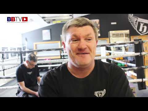 """RICKY HATTON MBE: """"I THINK MY SON MIGHT JUST HAVE IT"""" ALSO TALKS CROLLA, KHAN, LIFE AS A TRAINER"""