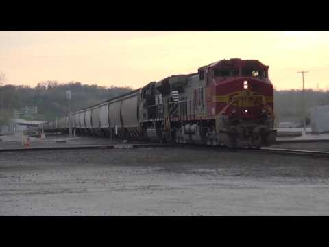 Kansas City Rail Action Early/Mid April 2017