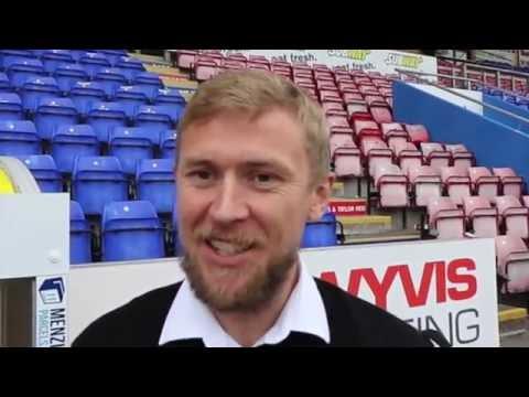 CaleyJagsTV : Richie Foran Reaction v Celtic : 18/09/16
