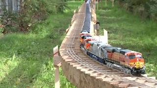 Der längste Modelleisenbahnzug Spur 0