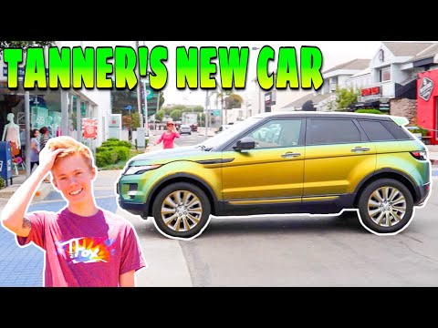 HE BOUGHT A NEW CAR!!! (TANNER FOX'S GUAC ROVER)