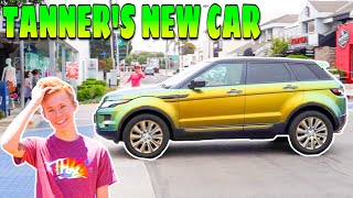 HE BOUGHT A NEW CAR!!! (TANNER FOX GUAC ROVER)