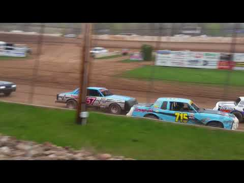 Pure stock heat @ Rice Lake Speedway 5/12/18