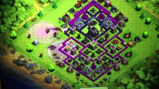Level 84 defense against level 90 - Clash of clans
