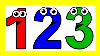 """Counting to 10"" - 10 Little Numbers Song, Learn to Count 1 to 10"