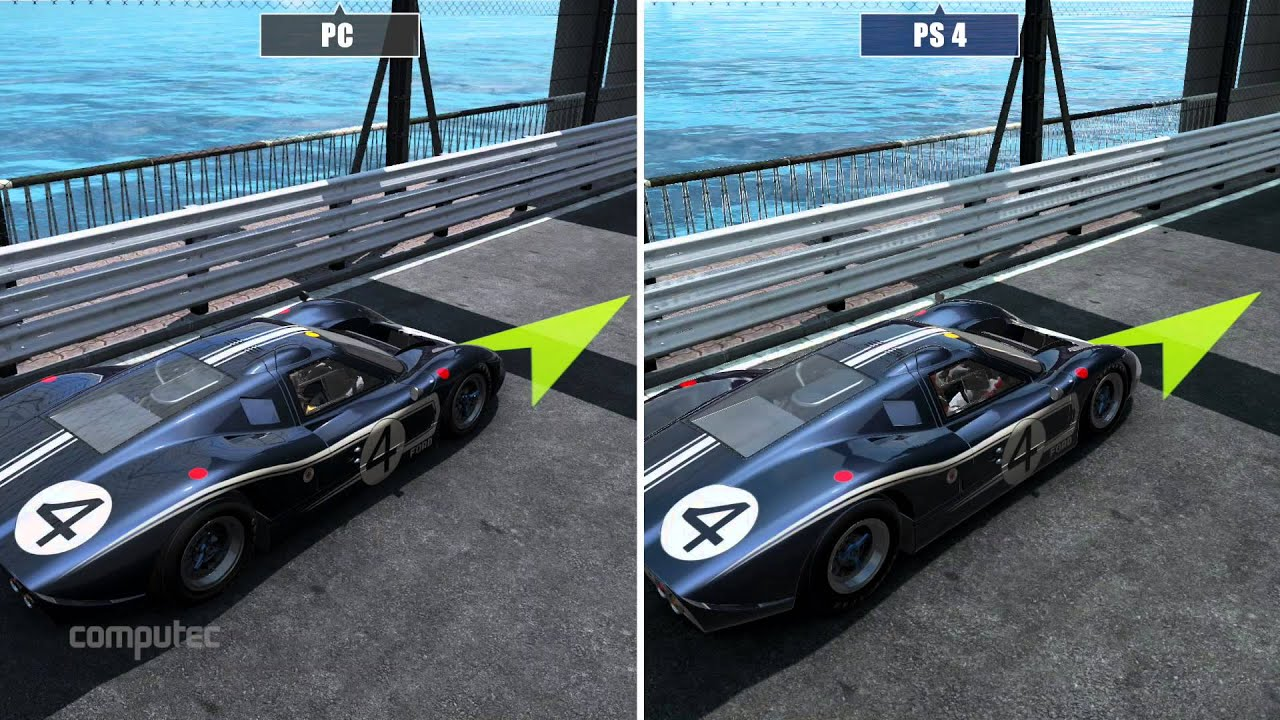 project cars pc versus ps4 graphics comparison. Black Bedroom Furniture Sets. Home Design Ideas