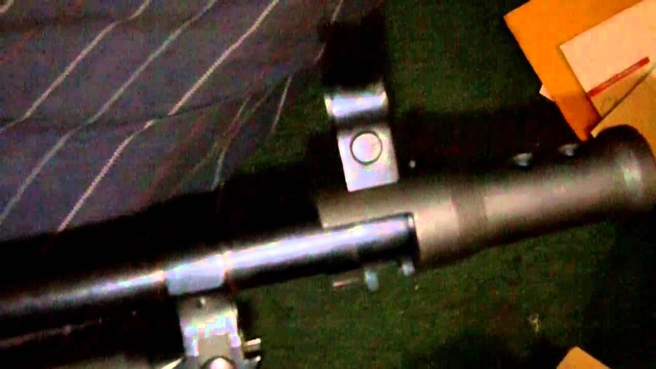 SKS muzzle brake twist on