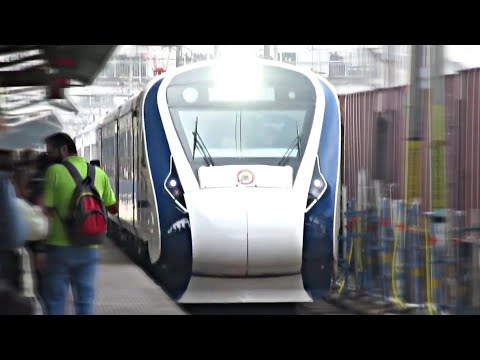First On Youtube||Full Journey Coverage ALD-BSB||Onboard 22436 NDLS-BSB VANDE BHARAT EXPRESS(T-18)!!