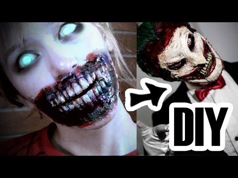 TUTORIAL Dientes de Zombie / Dientes Joker mask new 52 - Grecia Villar