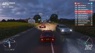 Forza Horizon 4 - Alfa Romeo Giulia TZ2 is A-class's last hope vs. Boneshakers [Ranked Adventure]
