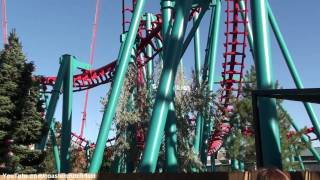 Mind Eraser (Off-ride HD) Elitch Gardens