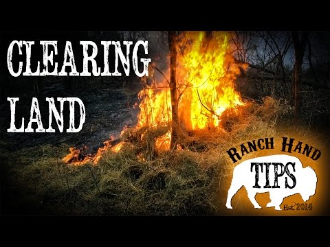 Land Clearing Basics - Ranch Hand Tips