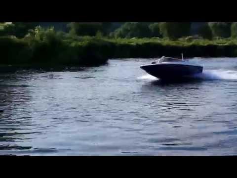 Катер Викинг-420 с мотором Сузуки-40