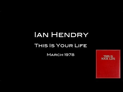 Ian Hendry - This Is Your Life (1978) | Full Programme -  4:3 Ratio