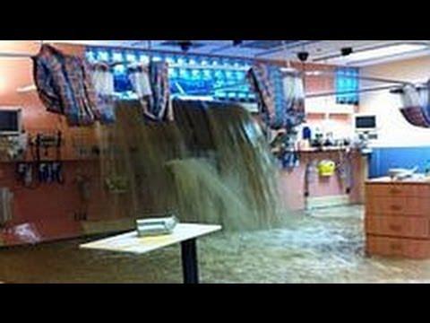 Surrey hospital flood
