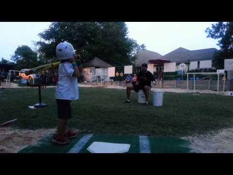 Front Toss Baseball Hitting Drill (5 & 6 Year Olds)