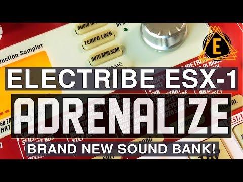 Electribe ESX-1 - Adrenalize - NEW SOUND BANK!