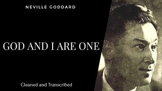 Neville Goddard - God And I Are One - 1972 Lecture - Own Voice - Full Transcription - Subtitles 🙏 -
