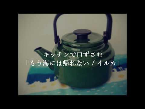 キッチンで口ずさむ「もう海には帰れない / イルカ」by Lucia.
