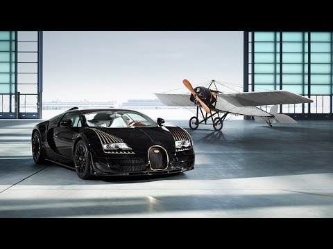 2014 Bugatti Veyron Black Bess Review Interior and Exterior