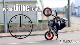 KTM 450 Supermoto Stunt Lot Session