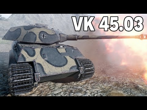 ZŁOM PREMIUM - VK 45.03 - World of Tanks