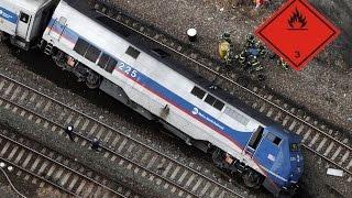 Аварии поездов, масштабные железнодорожные катастрофы(Железнодорожные катастрофы, аварии поездов и СССР, в России, и других странах мира, самые известные аварии..., 2016-06-06T14:45:12.000Z)