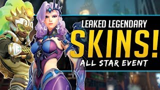 Overwatch Leaked Legendary Skins - Overwatch League All Star Event