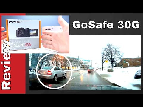 PAPAGO GoSafe 30G + TireSafe D10E | Papago Dash Cam Review | 1080P DashCam With GPS