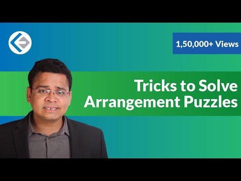 Tricks to Solve Arrangement Puzzles (CAT/CMAT)