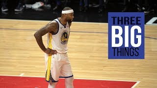 3 Big Things: Yes, the Warriors and DeMarcus Cousins broke the NBA