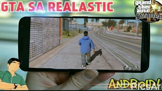 [290MB] Ultra Realastic Graphics Mod For GTA San Andreas Android + Download Link!