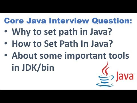 Why/How to Set Path in Java?|| About some important tools in JDK/bin?  ||Java Online Training