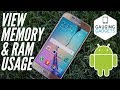 How to View Android RAM and Memory - Easy Android Tutorial