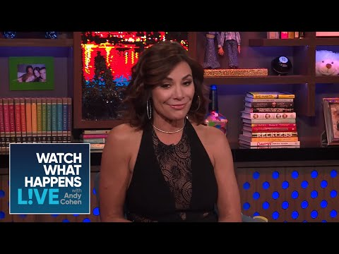 Luann De Lesseps' Controversial Diana Ross Costume  RHONY  WWHL