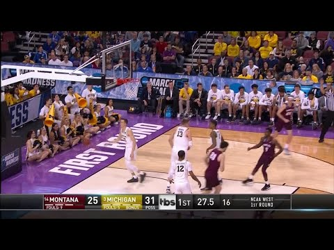 Michigan Wolverines vs. Montana Grizzlies: 1st Half Highlights