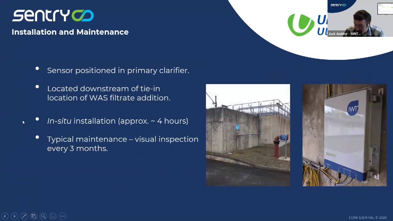 Optimized dosing of supplemental Carbon and waste activated sludge for United Utilities.