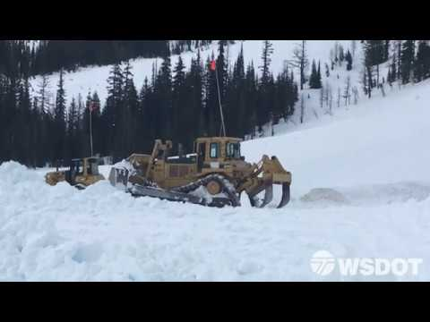 The North Cascades Highway reopens on Tuesday, May 16, 2017