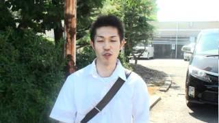 お盆開催オ~ル大阪の前検前の4397西村拓也選手の ショートインタビュー...