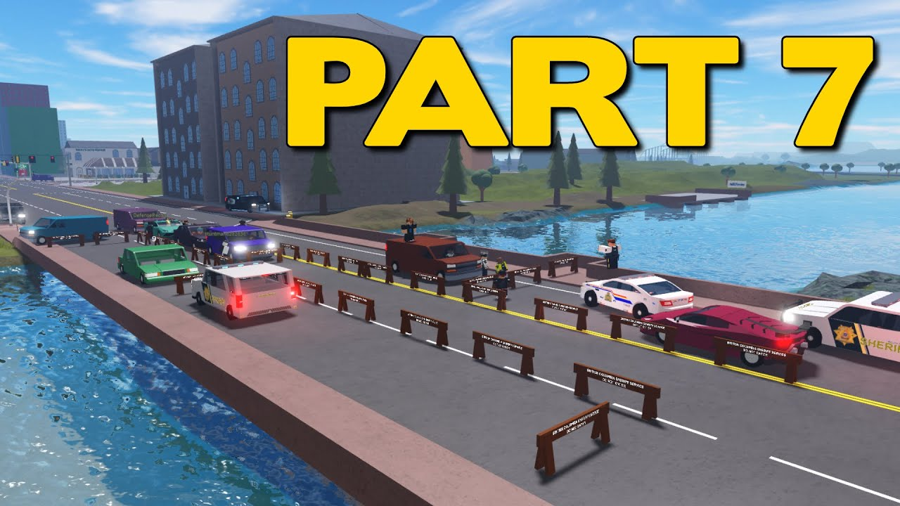 ROBLOX Vancouver BCSS Patrol Part 7 | Checkpoint with Pizzar44v4