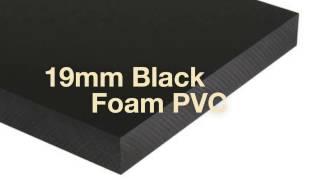Foamalite Black 19mm | NOW in Stock