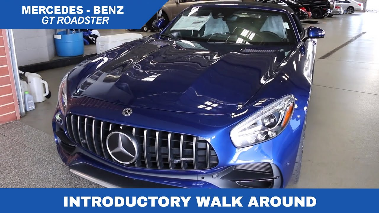 The 2018 mercedes benz gt roadster is here youtube for Knauz mercedes benz