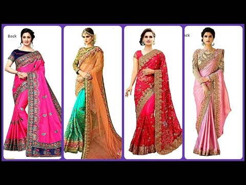 heavy-embroidery-designer-partywear-saree-with-price|-bridal-designer-saree-for-wedding,-engagement