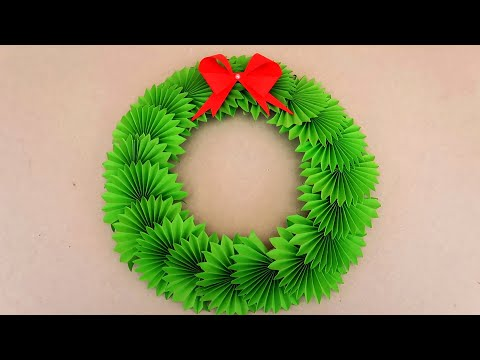 DIY Paper Christmas Wreath | Decoration Ideas for Upcoming Christmas by Christmas crafts