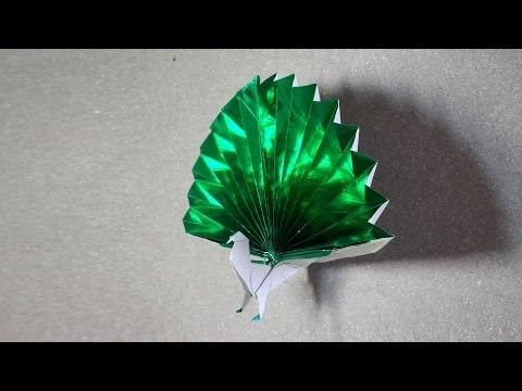 Origami Peacock tutorial - DIY (Henry Phạm)
